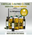 Aceite de Oliva Virgen Extra Pack 15L + Estuche de 3x750ML (PORTES GRATIS)