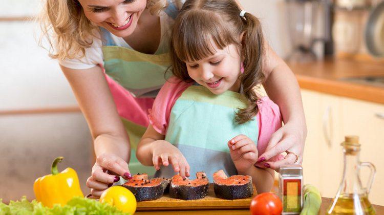 aceite de oliva para los niños