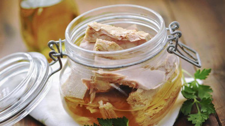conservar alimentos en aceite de oliva