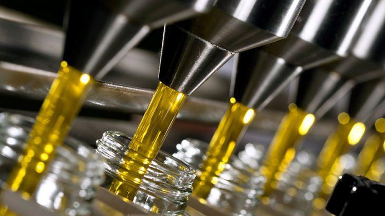 etiquetas del envase del aceite de oliva