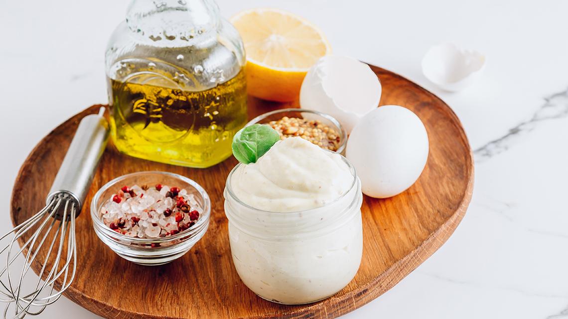 Recetas mayonesa casera