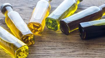Envases de aceite de oliva