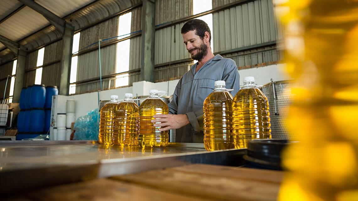 Fabrica de aceite de oliva