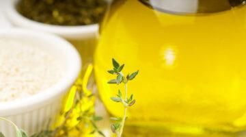 Aceite de oliva prensado en frio